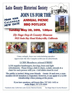 LCHS ANNUAL PICNIC, May 20, 18-1